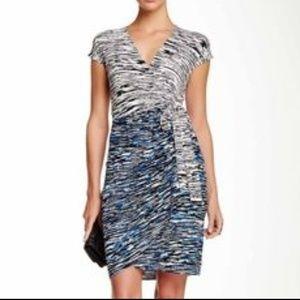 Maggy London Wrap Dress Size 8